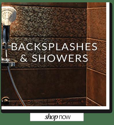 Backsplashes and Showers