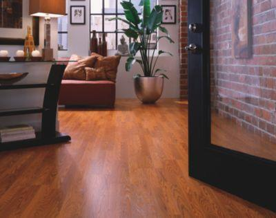 Georgetown Cinnamon Oak Plank 3 Room Scene